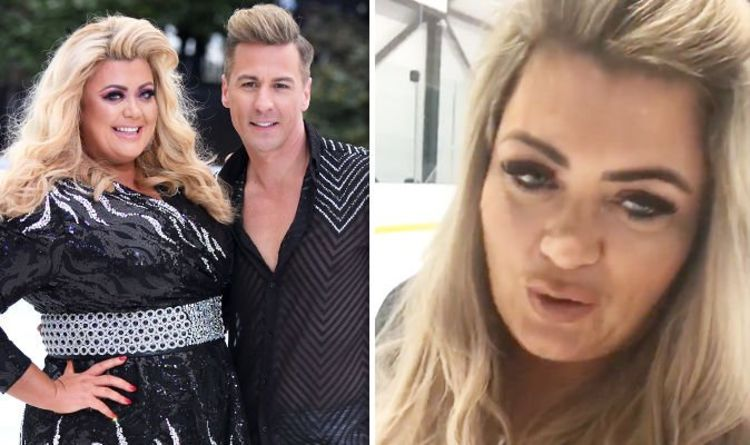 ad7562380b49d Gemma Collins   I m devastated  Dancing On Ice star finally breaks silence  on QUIT rumours