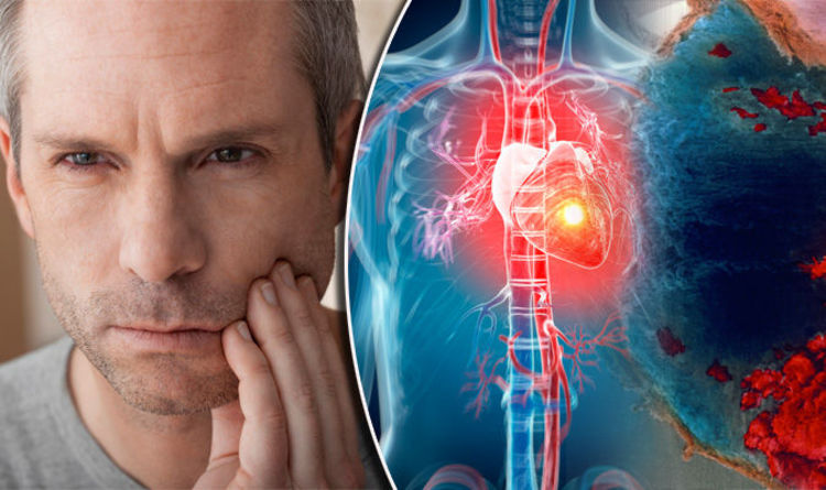 Heart attack symptoms - pain in the jaw could be warning sign ...