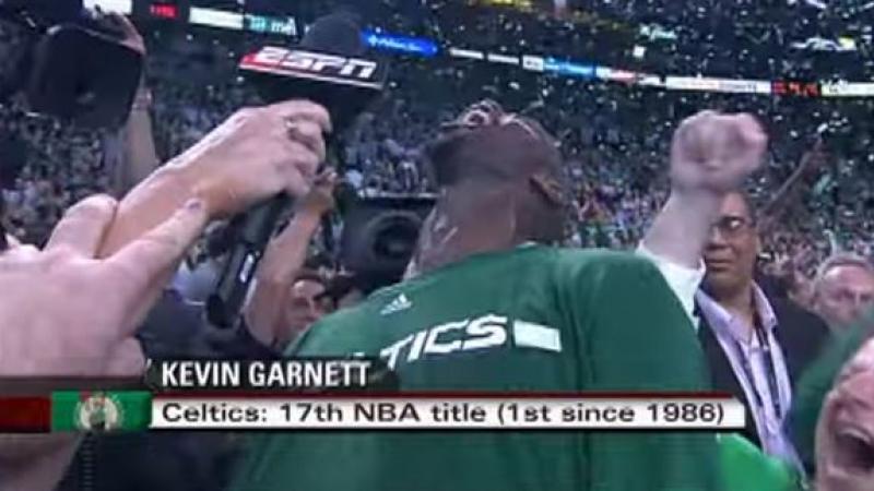 Relive Kevin Garnett's Epic Scream On Anniversary Of Celtics' 2008 ...