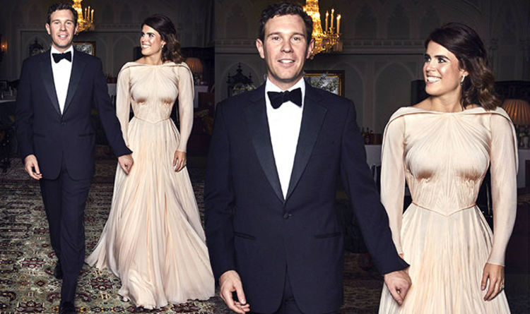 Princess Eugenie S Second Wedding Dress Revealed First Picture Inside Evening Reception Royal News Express Co Uk
