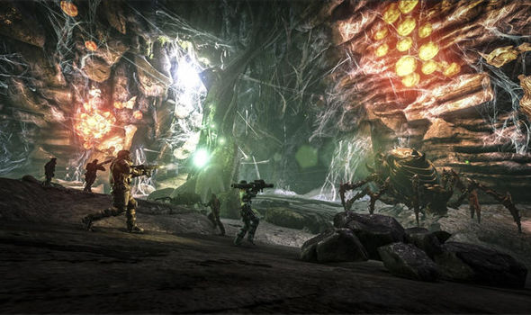 The Broodmother Can Be Found In Her Own Special Lair ARK Survival Evolved