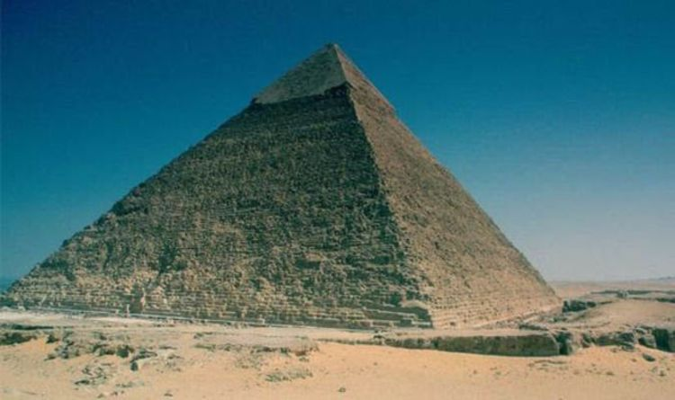 Ancient egypt discovery pyramid may hold throne carved from