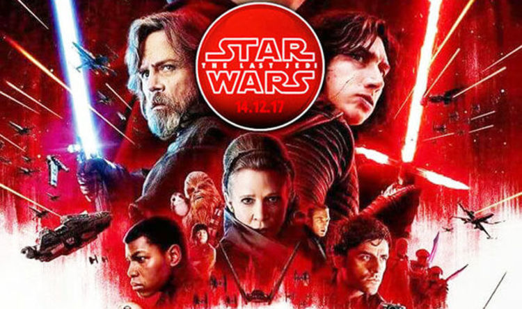 60651727bfe80 Star Wars 8 The Last Jedi: The 13 most WTF moments | Films | Entertainment  | Express.co.uk