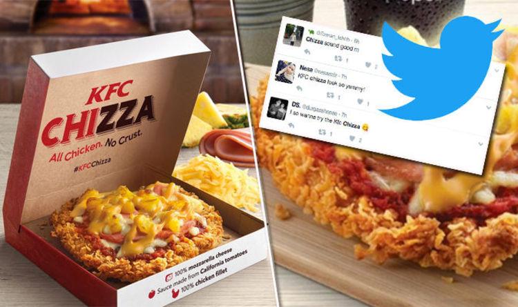 Kfc Chizza The Menu Addition Sending Twitter Into Meltdown