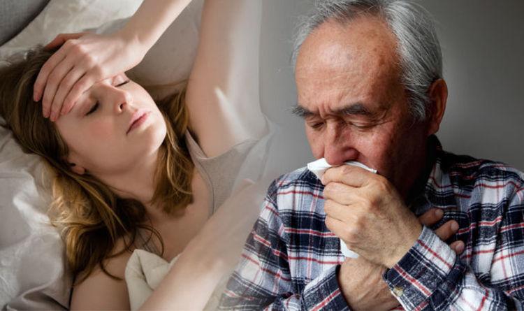 Risultati immagini per flu cough