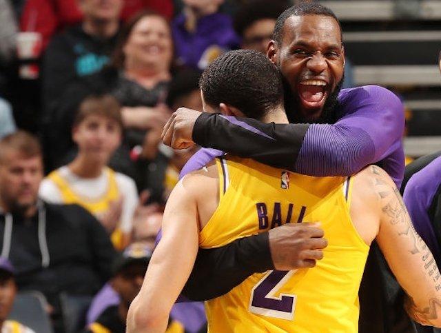8cc9e5269e25 Lakers News  LeBron James  Proud  Of Lonzo Ball For  Taking Control ...