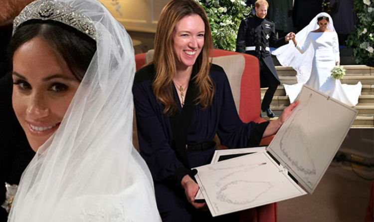 Meghan Markle Wedding Dress How Bride Kept Givenchy Designer A Secret Royal News Express Co Uk