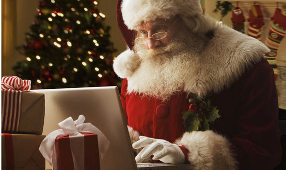 children are now writing their christmas lists to santa online uk