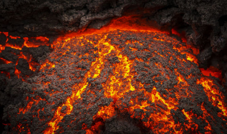 yellowstone style eruption could be sparked by magma chamber rising