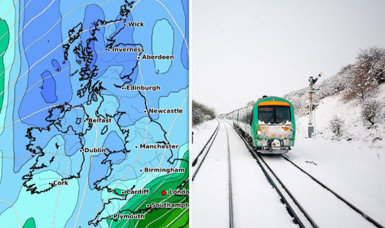 UK long range weather forecast: Will 2018 be the COLDEST winter for ...