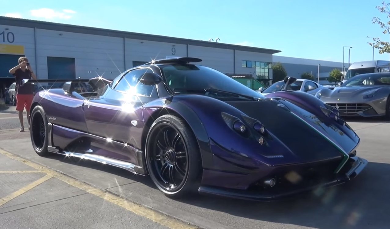 Redesigned One Off Purple Pagani Zonda 760 Rs Spotted