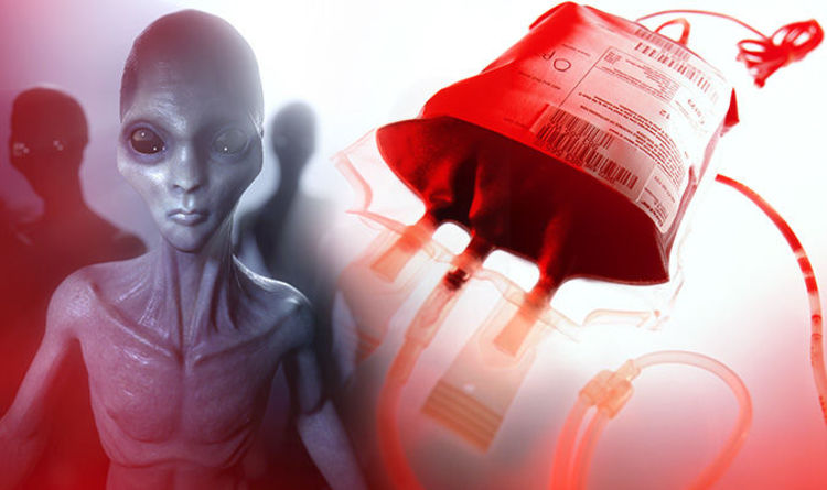 Alien descendents on Earth carry THIS blood type, according to shock