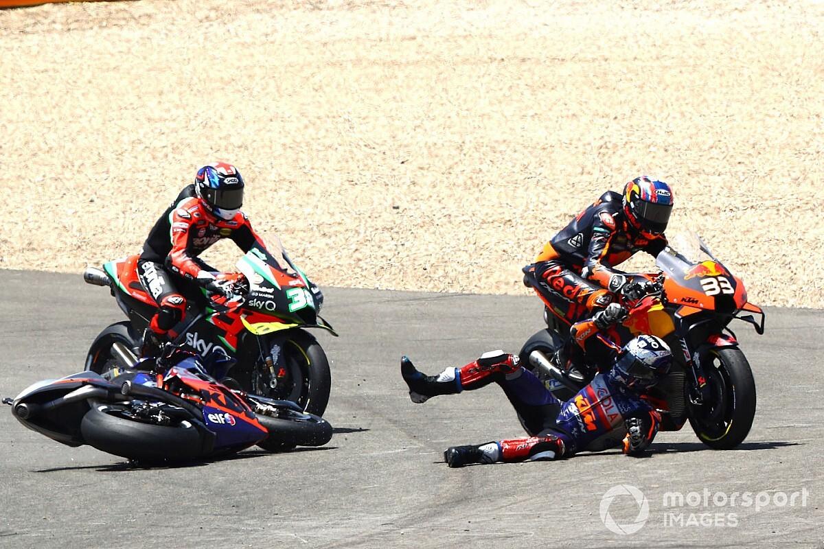 Oliveira disputes Binder's account of MotoGP clash at Jerez