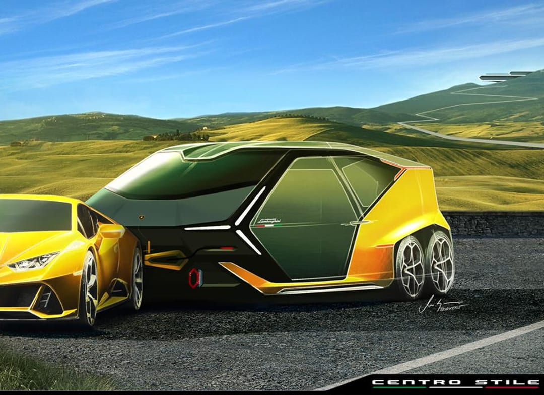 New Lamborghini Camper For Supercars Revealed