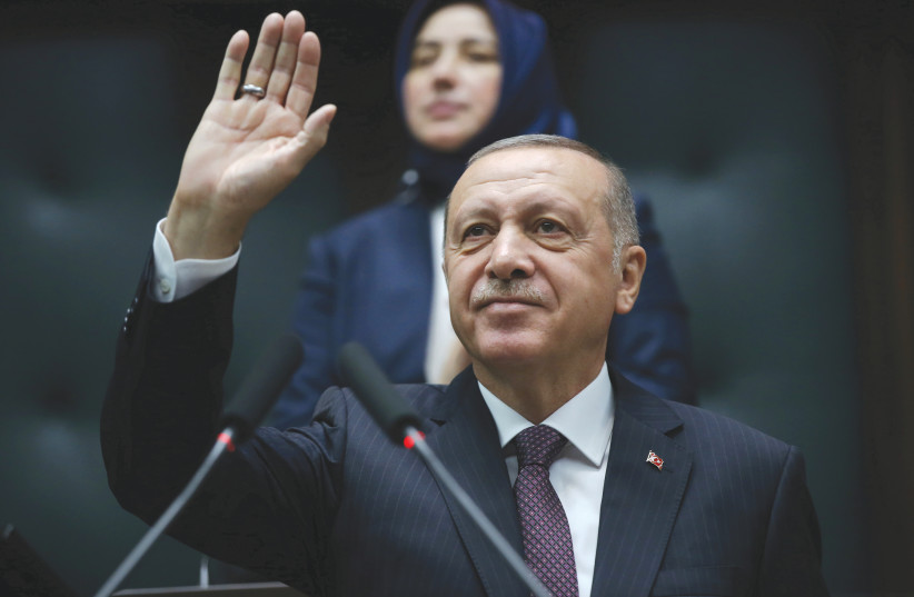 Erdogan says Turkey interested in improving relations with Israel - The  Jerusalem Post