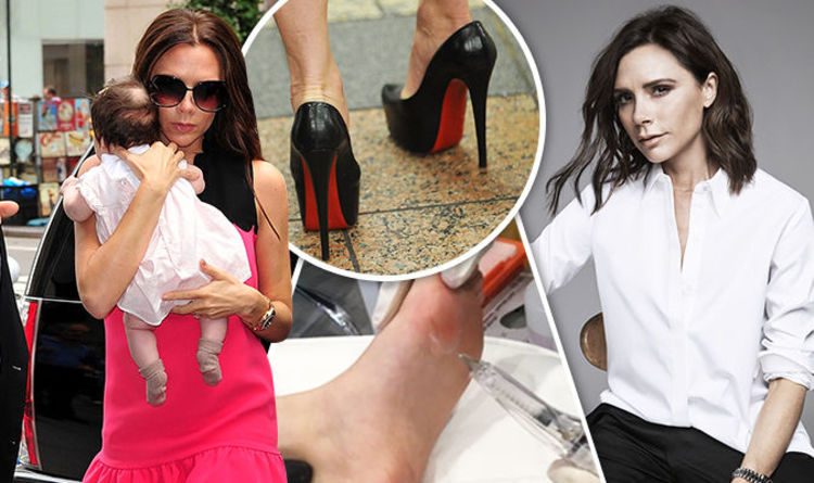 fb8d26195080  Loub Job  Fashionistas pay £450 for  Louboutin lift  over pain from heels  loved by stars