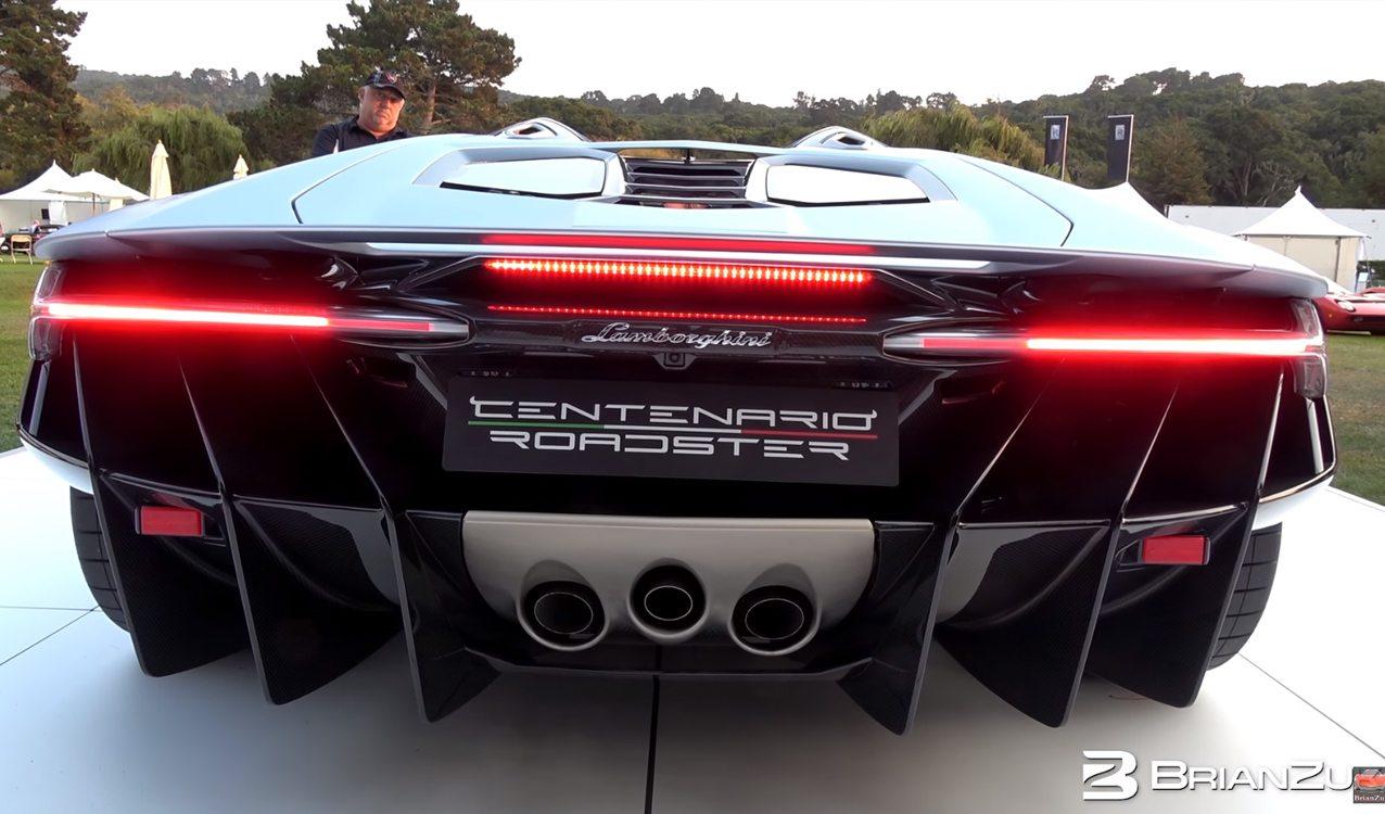 Lamborghini Centenario Roadster Sounds Like A Monster