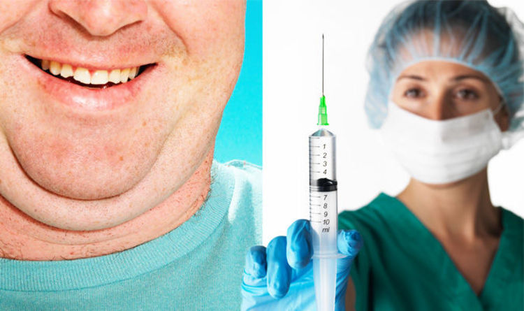 Weight loss: Fat melting injections help double chin removal ...