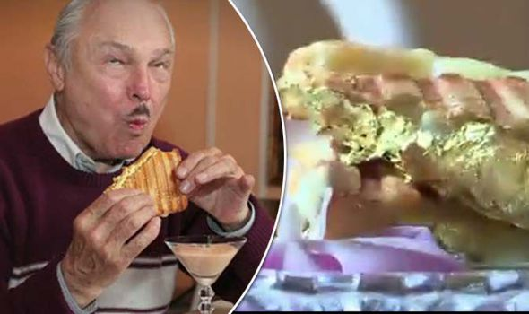 the world s most expensive sandwich is a 140 cheese toastie dipped