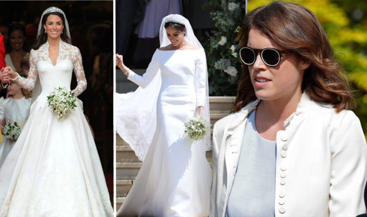 Princess Eugenie Wedding Revealed This About Her Dress In British Vogue Express Co Uk