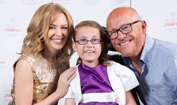 Young girl suffering from spinal muscular atrophy gets to meet kylie kylie minogue butterfly ball abigail bolt mead spinal muscular atrophy type ii m4hsunfo