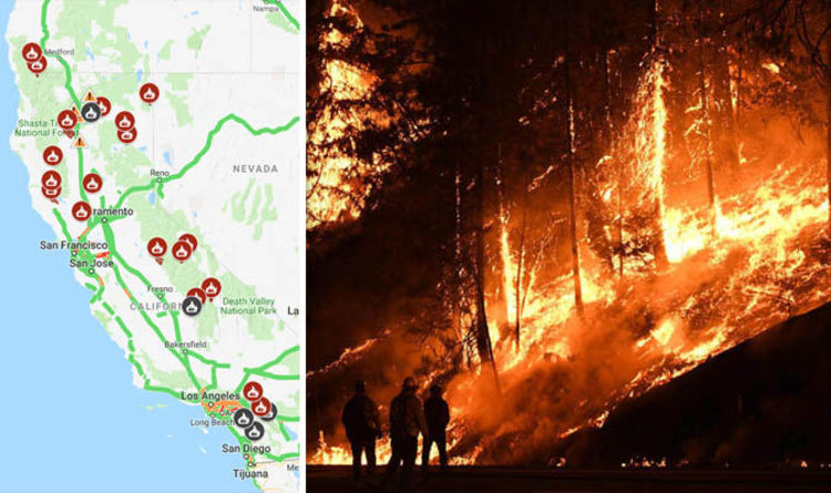 Carr Fire Update Map Latest Containment How Far Have The