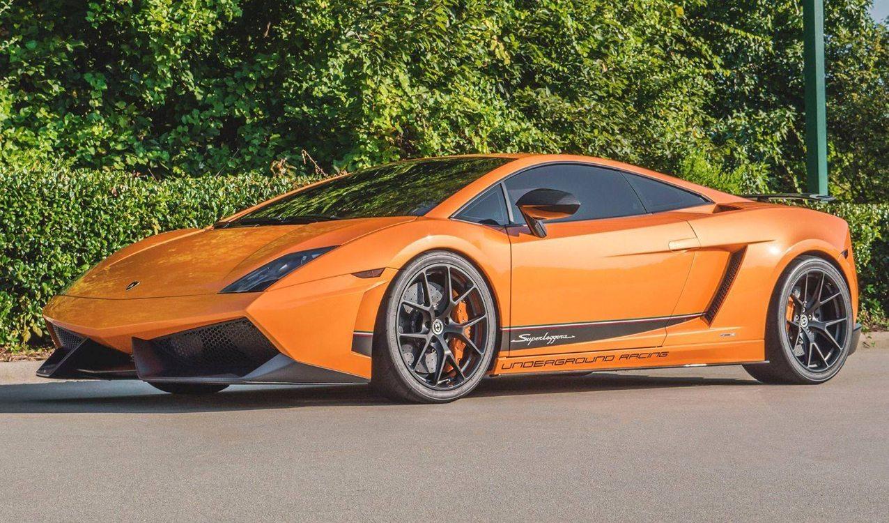 Then Now Lamborghini Gallardo