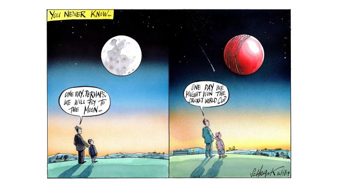 Peter Schrank Times cartoon: July 16 2019 | Comment | The Times