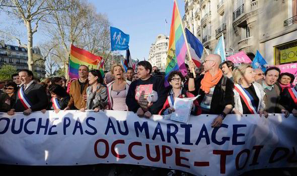 Same sex marriage in france