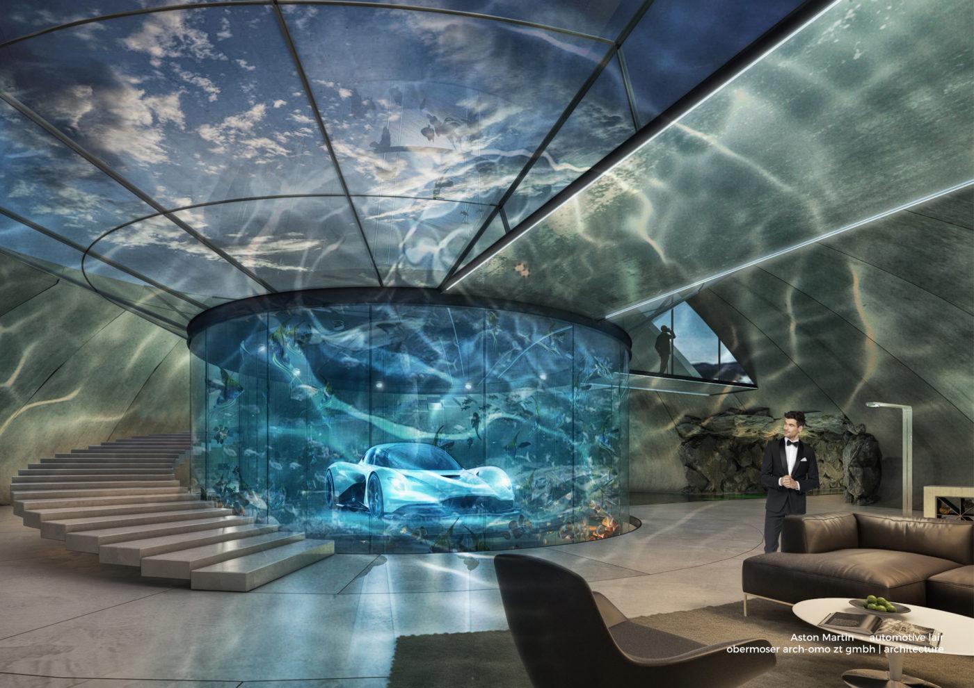 Work With Aston Martin To Custom Design Your Garage