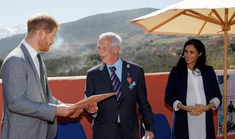 Meghan Markle in Morocco: Why Meghan KEPT AWAY from Prince Harry in