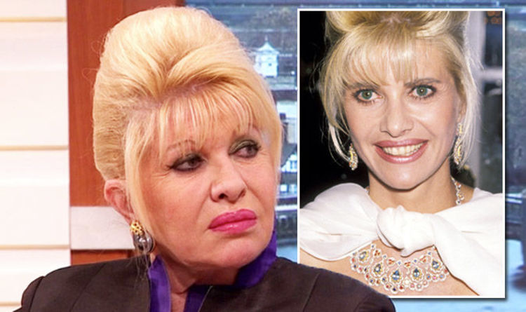 Image result for photo of Ivana Trump
