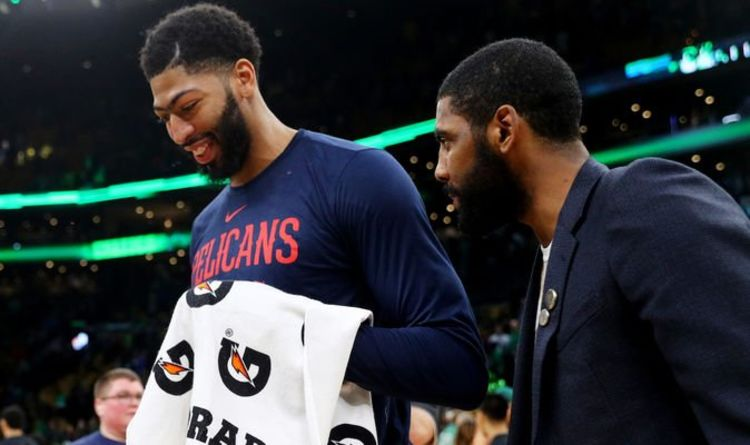 7b7133eaed0d NBA trade news  Kyrie Irving can help Lakers land Anthony Davis with one  move