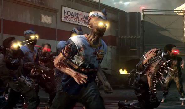 Call Of Duty Advanced Warfare S Ascendance Adding Brutal New Enemies In Exo Zombies Gaming Entertainment Express Co Uk