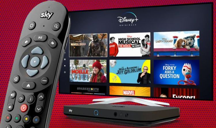 Sky TV viewers who watch Disney+ on their box are getting a bad deal    Express.co.uk
