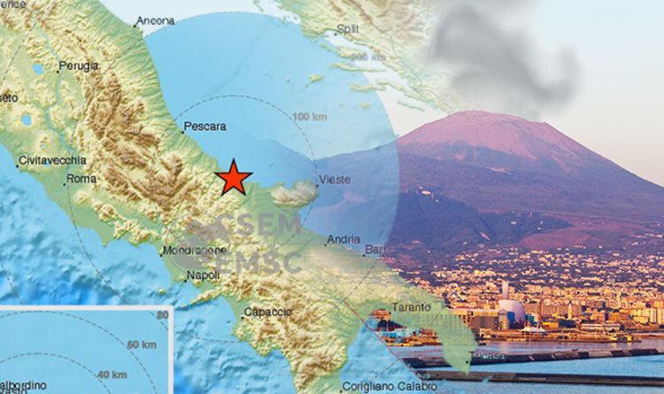 Italy Earthquake Watch Moment 5 2 Magnitude Quake Hits Italian