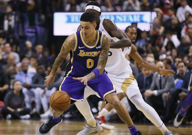 5ab0c6ddc83 Lakers News  Kyle Kuzma Focused On Using Remainder Of Season To ...