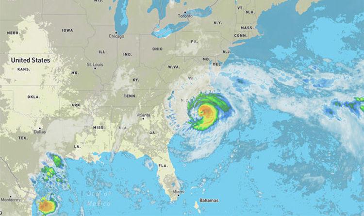 Hurricane Florence tracker: Map of North Carolina - where did ...