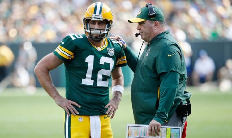 NFL news  Green Bay Packers star Aaron Rodgers makes surprise admission on  Mike McCarthy 4f02c3672