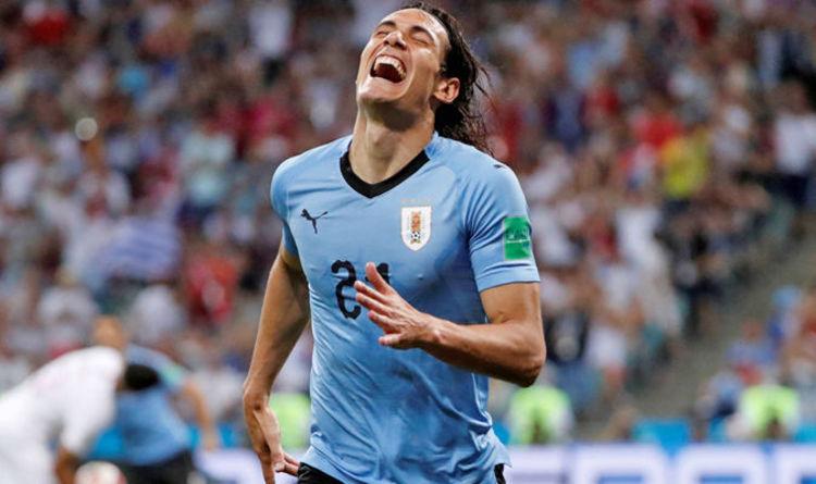 47d0e0208 Edinson Cavani  Injured Uruguay star sends message before France World Cup  clash