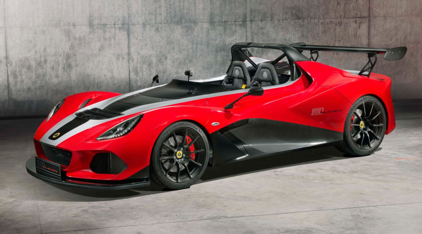 bc235c7d1547 Lotus 3-Eleven Ends With Their Quickest Model Yet