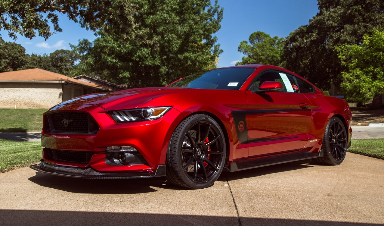 Hennessey 25th anniversary edition hpe800 ford mustang for sale 1 of 25