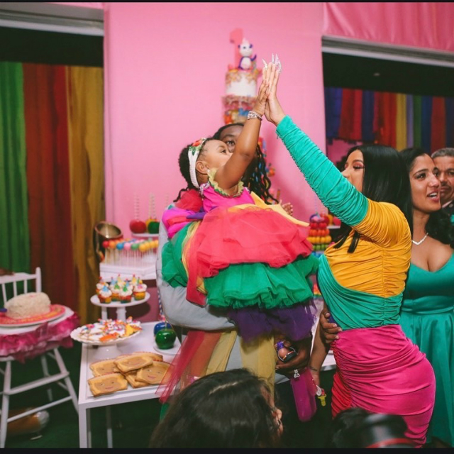 Cardi B And Offset Gave Baby Kulture A Lit Birthday Party In The Middle Of A New York Blackout