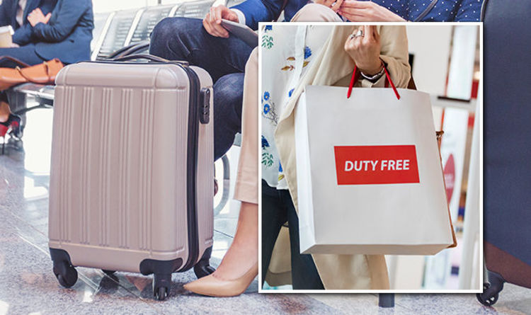 0a59e445cd UK flights  Are duty-free bags allowed in the cabin with hand luggage