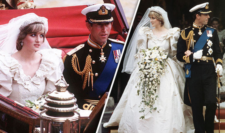 Princess Diana And Prince Charles Wedding Body Language Warning Signs Visible On Day Express Co Uk