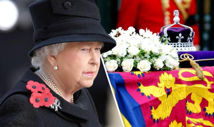 What happens when the Queen dies  From Queen Elizabeth s funeral to ... b46986695367