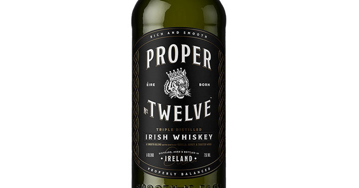proper twelve  Proper No. Twelve Irish Whiskey