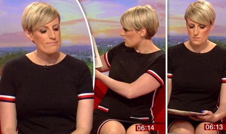 BBC Breakfast BLUNDER - Steph McGovern accidentally 'flashes