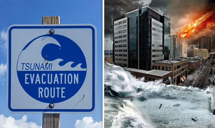 TSUNAMI to hit the US before the END OF THE WORLD - shock claim