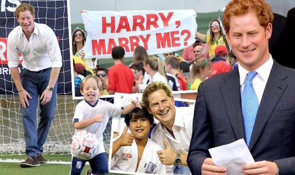 World Cup 2017 Brazil Prince Harry England Costa Rica Royal Family